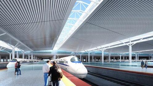 陕西将建一座特等站,站台规模设13台26线,沿途经过你家乡吗