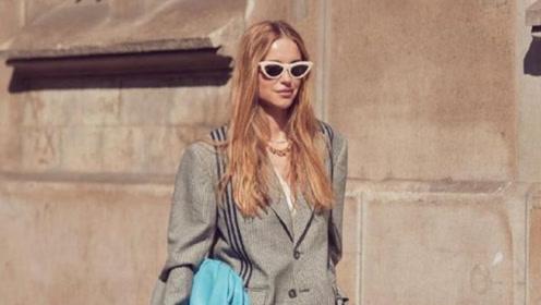 今年流行的廓形西装,不是一般的时髦大气
