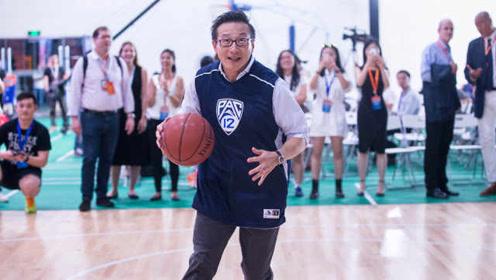 篮网老板蔡崇信五佳球,就问你秀不秀?