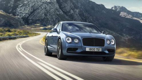 新款宾利飞驰亮相,增加V8版本,豪华感无与伦比!