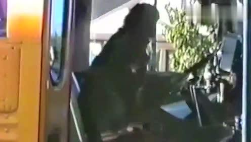 狗狗太逗了,校车接走了小主子,狗狗竟徒手拉车不让走