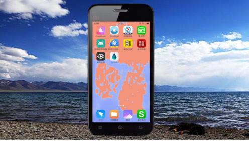 """把""""液体""""装进手机,随着手机倾斜而流动的液体壁纸,非常炫酷"""