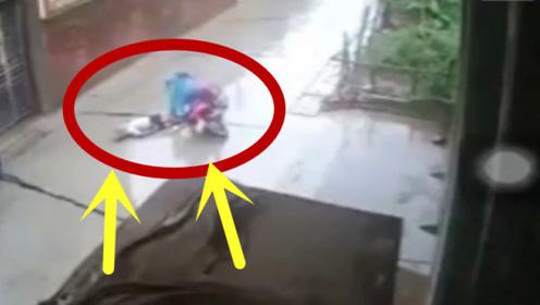 气到发抖!老人过马路遭遇不幸,肇事者的做法让人寒心!
