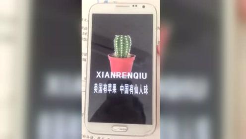 国产手机真强大,具有攻击性的仙人球手机