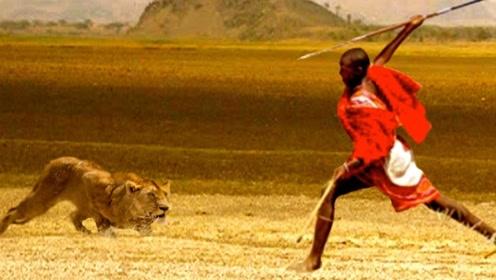 """狮子为何看见""""马赛人""""就立刻逃?看到他们的生活习惯,你也怕!"""