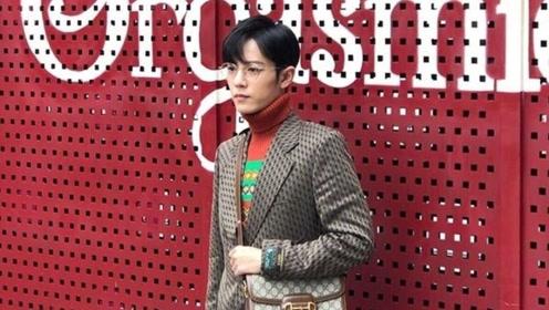帅帅的Gucci男孩肖战营业啦!西装+高领衫艺术与时尚的碰撞