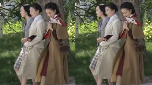 佟丽娅饰演千金大小姐,路透照曝光,模特步走出红毯的感觉