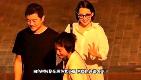 李亚鹏与许晴约饭局,王菲大女儿陪同,这画面好像是一家人