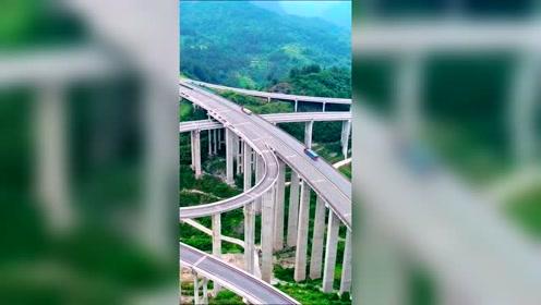 可能是年纪大了,一个立交桥都能让我热血沸腾湖南湘西
