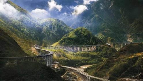 中国最刺激的高速公路司机开在上面如同云端 240公里建了5年