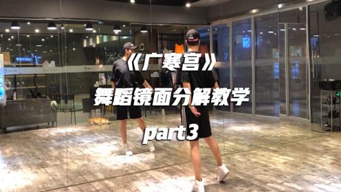 《广寒宫》舞蹈镜面分解教学part3