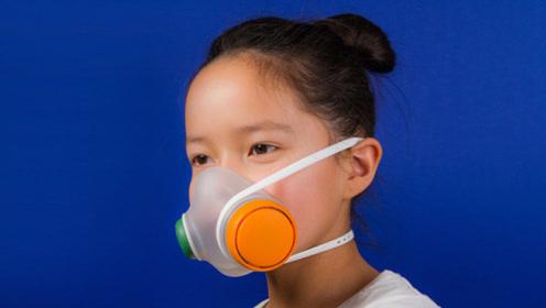 """这款""""简陋""""的口罩,不但是抗雾霾的利器,还能当儿童玩具"""