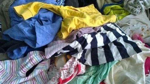 家中的旧衣服不要丢,简单改造下,成品女生天天都能用得上