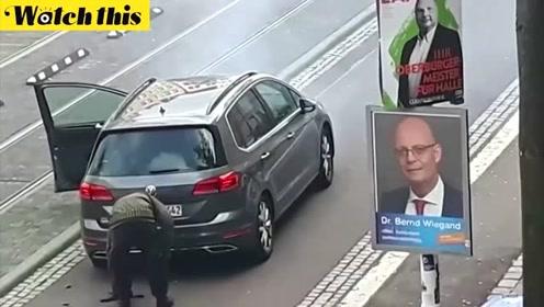 德国发生连环枪击案疑似恐袭 嫌犯现场开枪视频曝光