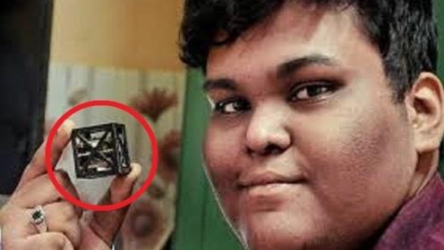 """印度""""神童""""发明世界最小的卫星,NASA邀请加入,前途无量!"""