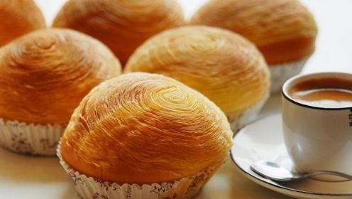 好吃易做的老式面包,软糯鲜香,让你的早餐有营养远离添加剂