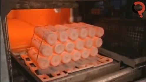 感受一下现代工厂机器有多先进和强大