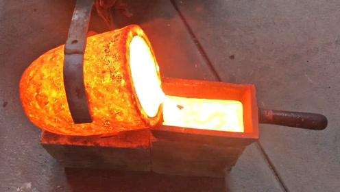 报废电机挺有用,拆开熔化铸成铝锭、铜锭,收藏起来看看都过瘾