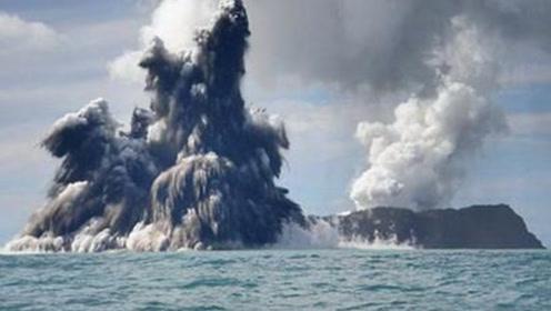 海底火山喷发时明明在海里,为什么海水浇不灭?专家给出答案