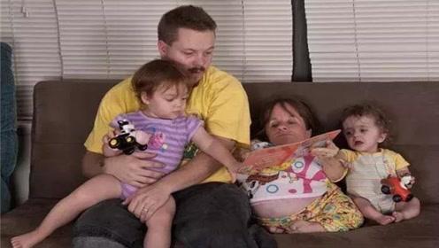 最矮小的母亲,身高不足75厘米,却不顾危险生了3个孩子