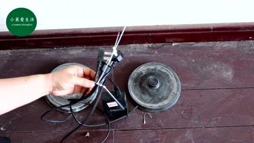 家里地上电线很乱,教你一个收纳电线的小技巧,电线轻松排好