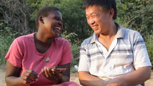非洲女子嫁给河南农民,混血儿子拒学英语,沉迷河南话无法自拔!