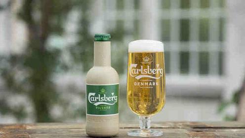 嘉士伯推出纸质啤酒瓶:木纤维制作,100%可回收