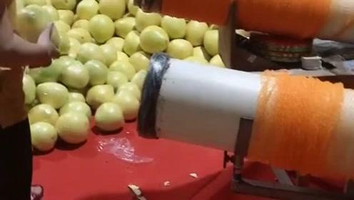 把柚子扔进去,接下来让我长见识了,原来是这样打包的!