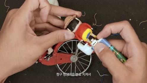 国外小伙太喜欢蜡笔小新了,特地拜托朋友给他做一个模型