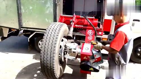 德国工艺全自动更换轮胎,更牛的是遥控操作,厉害了!