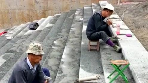 在过几十年,中国这些传统的工艺就不存在了,现在的年轻人不会干这些!