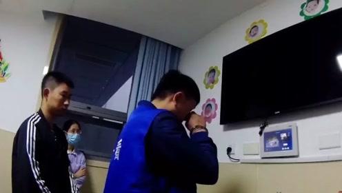 看哭了!ICU外 父亲与出生9天的女儿首次相见……