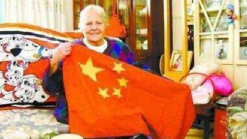 她是美国人却有一颗中国心,宣扬中国70年,被特批加入中国国籍!