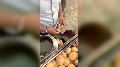 这绝对是印度美食之一,每次吃了都很精神!