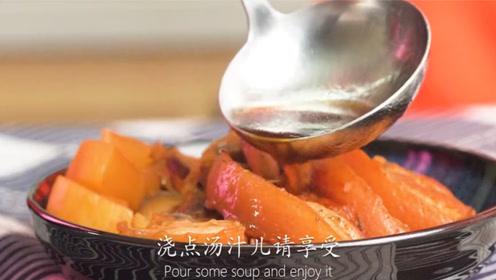 用电饭锅一键就能搞定的大肉,香气四溢,看着都饿了!