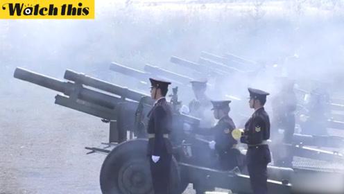 日本新天皇即位典礼在即 自卫队唯一礼炮部队训练忙