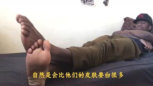 为何非洲人竟用这种洗脚方式,网友:这么洗,煤炭也得洗白了