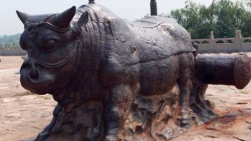 70吨的黄河铁牛被捞出后,放在那却不保护,专家:我们不敢!