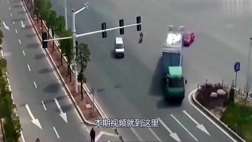 男子骑车回家,老婆的一个电话,瞬间救了男子一命!