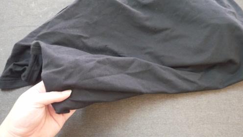 黑色衣服容易褪色,教你一个小方法,经久耐穿不褪色不变白
