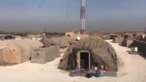 在曼比季,叙利亚阿拉伯陆军和俄罗斯雇佣兵接管美军特种部队营地