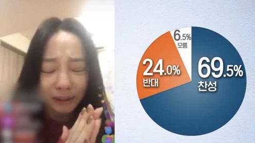 具荷拉痛哭悼念雪莉,七成韩国人赞成网络实名:处罚标准模糊