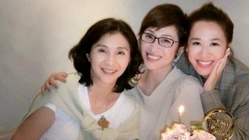 陈法蓉与岑杏贤王爱伦同庆生 三人均是港姐出身