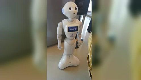 机器人用英语介绍自己