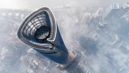 我国第一高楼,高632米,花费10年才建成,如今惊艳全球!