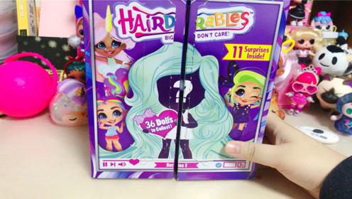美发娃娃确认款分享,超级可爱!