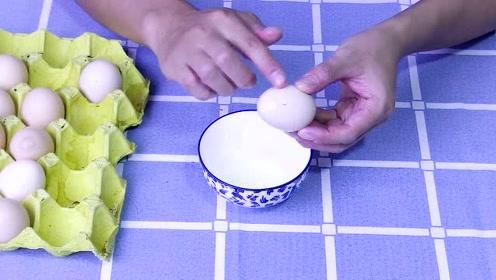 鸡蛋买来不要放冰箱,这样摸一下,放一个月都不会坏