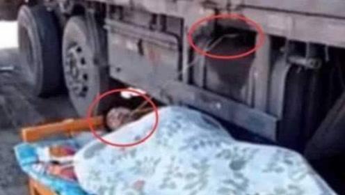 货车司机睡觉时,为什么嘴巴和油箱要连一根绳子?看完实在太心酸!