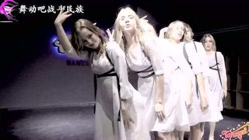 """字典里的""""肤如凝雪"""",看到这群跳舞的俄罗斯女孩,就懂了"""