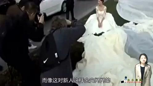 婚纱不就是结婚用吗,那就太简单了,这婚纱长4100米